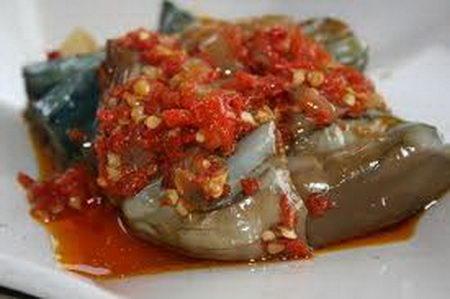 ซัมบัล เทอรง (มะเขือผัดน้ำพริก) บรูไน