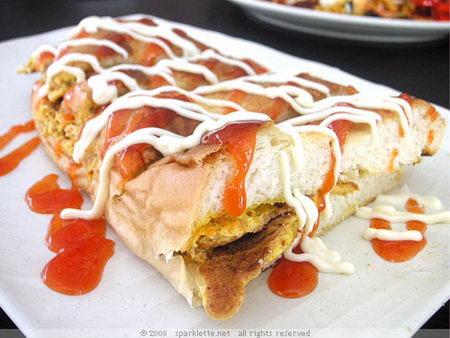 โรตีจอน (ขนมปังทรงเครื่อง) มาเลเซีย