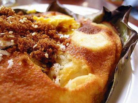 บีบิงคา (เค้กมะพร้าว) ฟิลิปปินส์
