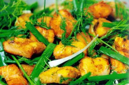 ชาชา (ปลาผัดขิง) เวียดนาม