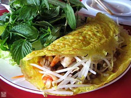 บันเซียว (ขนมเบื้องไข่) เวียดนาม