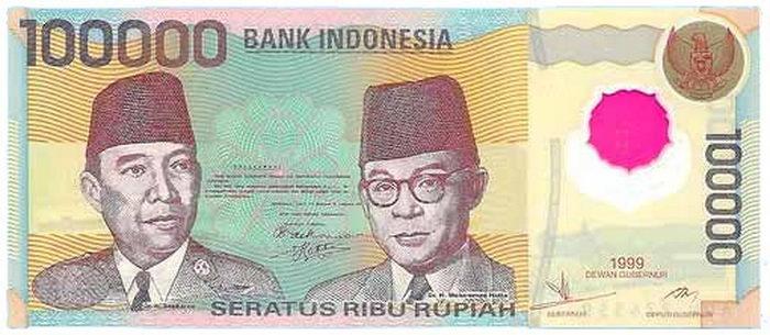 รูเปียห์ <hr></hr> IDR <hr></hr> 1 บาท = 348  รูเปียห์ อินโดนีเซีย