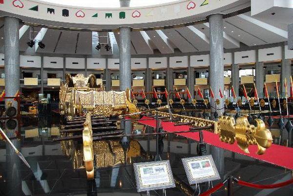 พิพิธภัณฑ์หลวงเรกาเลีย The Royal Regalia Museum บรูไน