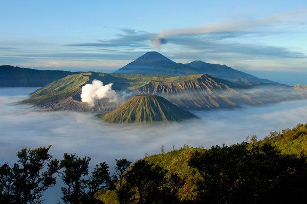 ภูเขาบรูโม Mount Bromo อินโดนีเซีย