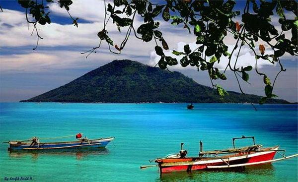 หาดบูนาเคน Bunaken อินโดนีเซีย