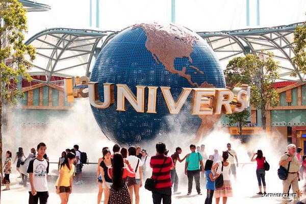 สวนสนุกยูนิเวอร์แซล Universal Studios สิงคโปร์