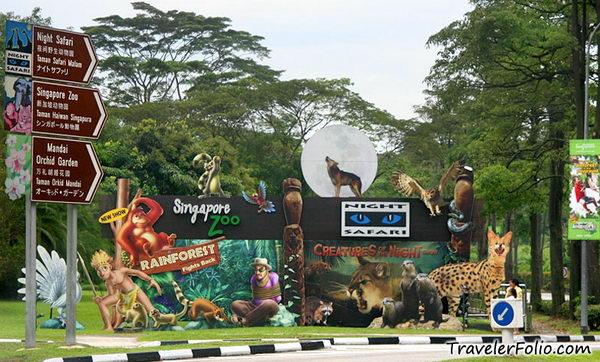 สวนสัตว์ Singapore Zoo สิงคโปร์