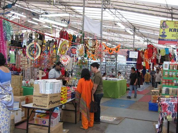 ตลาดอินเดีย Little India สิงคโปร์
