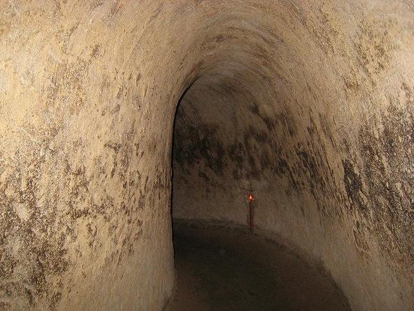 อุโมงค์คูชุย Cu Chi Tunnels เวียดนาม
