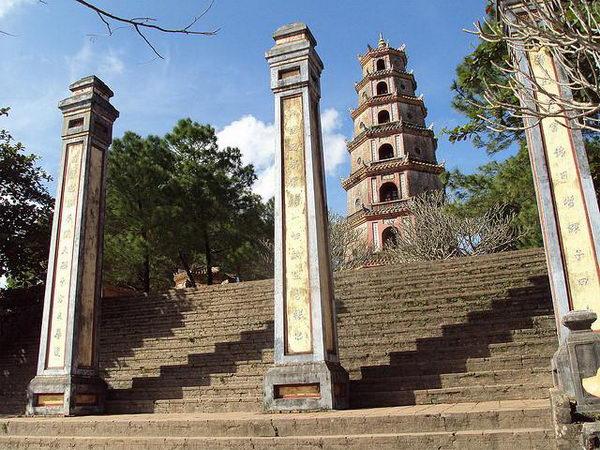 เจดียเทียนมู Thien Mu Pagoda เวียดนาม